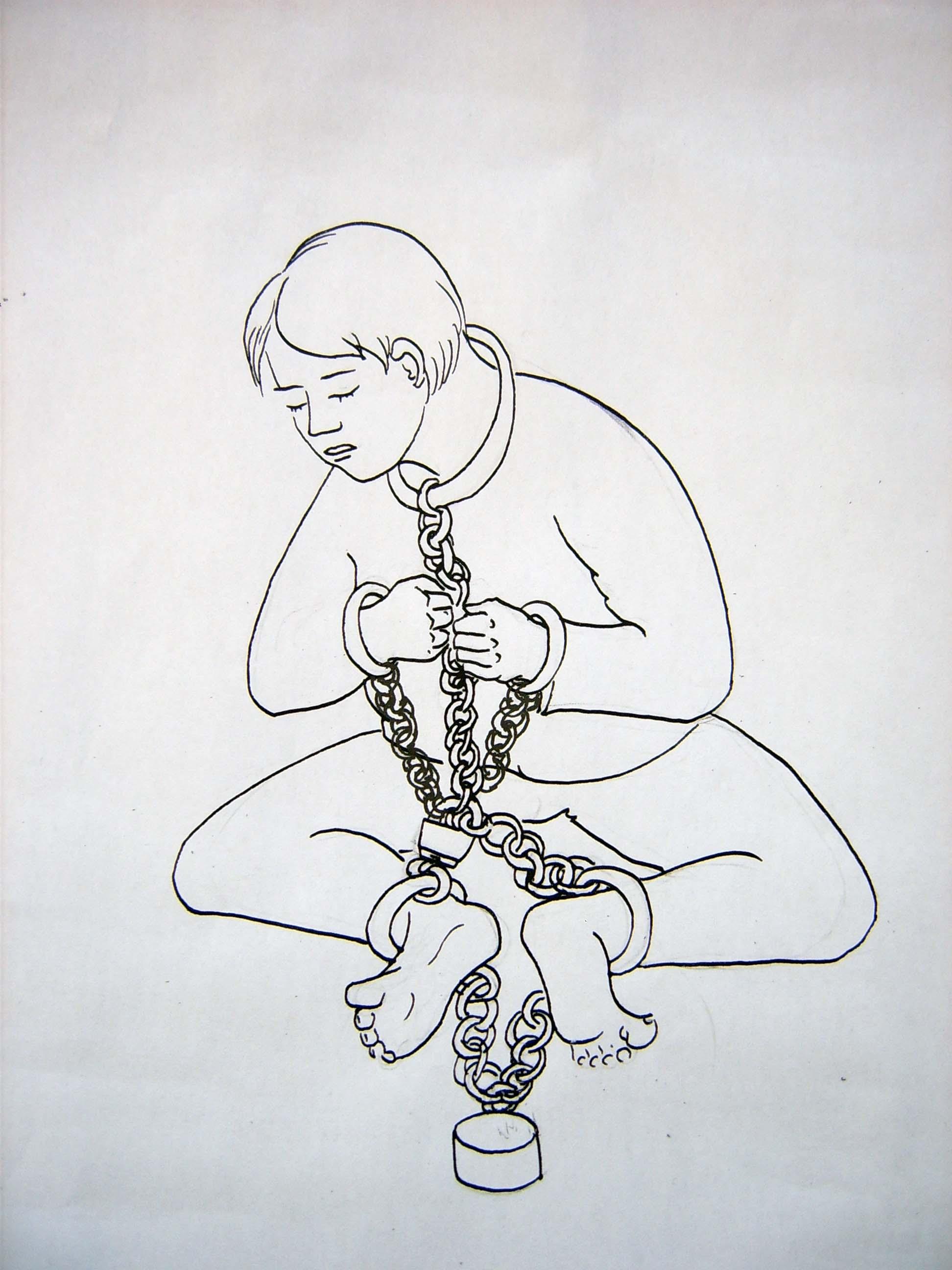 Пытки девушек в кандалах 14 фотография