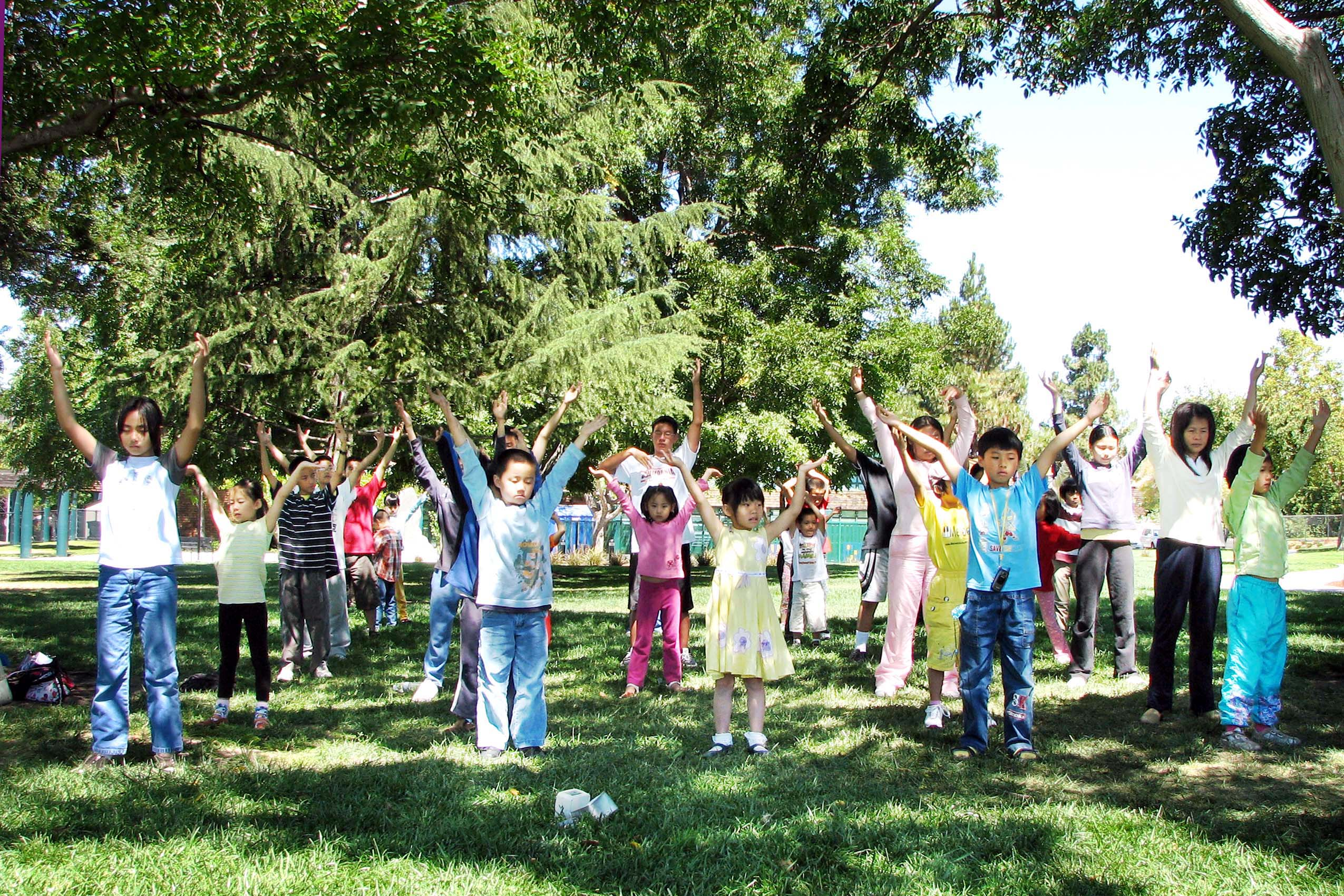 California minghui school summer camp held in fremont for Summer camp northern california